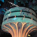 Rain Forest at Martin Place, Vivid 2014