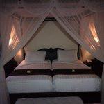 lits jumeaux dans 1 des 2 chambres