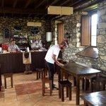 interior del Restaurante, típica casona Asturiana
