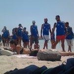 lo sport preferito su questa spiaggia :)
