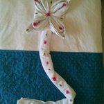 Fiore sul letto