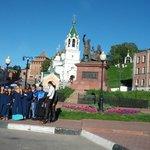 У Кремля,в 5 минутах хотьбы от отеля