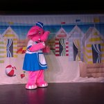 One of the entertainment characters