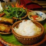 The Crispy Hanoi Spring Rolls