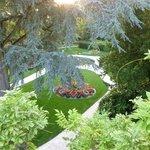 vue jardin Coutances
