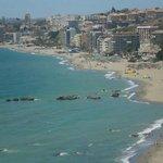 Fuengirola view from beach club