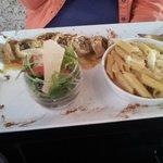 plat calamar farci