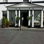 Dougie at the front of The Manor