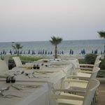Blick von der Terrasse der Restaurants