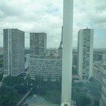 Vue de la chambre 2201, la demie Tour Eiffel !!!