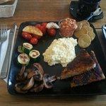 A wonderful vegetarian breakfast!