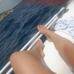 Chillin on the boat
