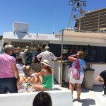 On Catamaran to Palma