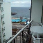Vistas y terraza habitación 606