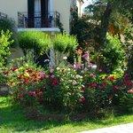 balcon et jardin