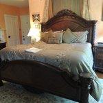 Tiger Lily bedroom