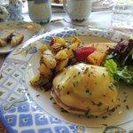 another gourmet breakfast