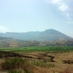 Mountain ranges and marijuana fields on the way to Akchour
