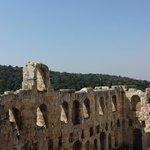Climbing the Acropolis..