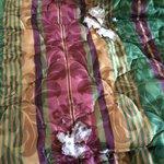 Nasty bedspread
