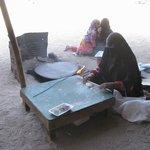 Бедуинская деревня.