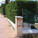 Playa Beach Entrance