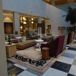 Upbeat Hotel Lobby