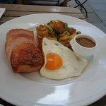 "German ""Ham and Eggs""....very tasty"