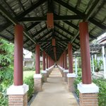 The Corridor access to rooms.