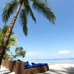 Two Private Beach Lounges with Bungalow Stay