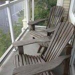 balcony on room 417