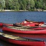 Free Canoes on the waterfront