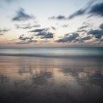 Sunset view from the Bucuti & Tara Beach