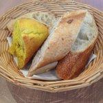 Bread basket. All yummy.
