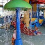 Splash pad area