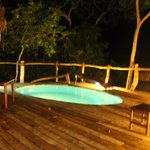 Our deck and plunge pool