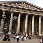 fromt of the British Museum