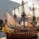 rijksmuseum - modello di galeone olandese