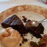 Pastis de Xocolata y gelat se ratafia