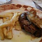 Filet de pollí amb foie