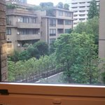 view from room overlooking Izumi Garden