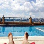In swim pool