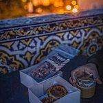Terrace coffee and dessert