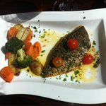 Main dish: Sea-bream with Mediterranean vegetables