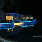 Nacht am Pool