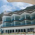 Hotelanlage Aussicht Bergauf