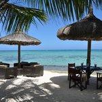 restaurant de plage de l'hôtel