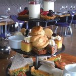 Afternoon tea for 3.