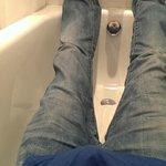 Bath in Triple room for dwarfs