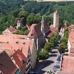 Udsigt over Rothenburg